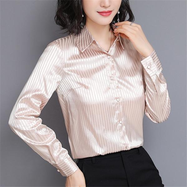 Using Silk Shirt Women